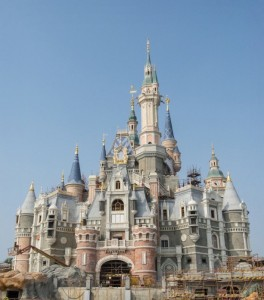 Disney Shanghai Castle